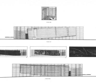 Triangle de la Folie I - 6-Façades - la coupe est son plan, le plan sa façade - photographer: Luca Ruspantini