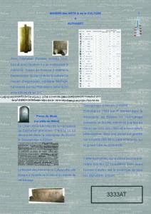 MAC plaquette Alphabet