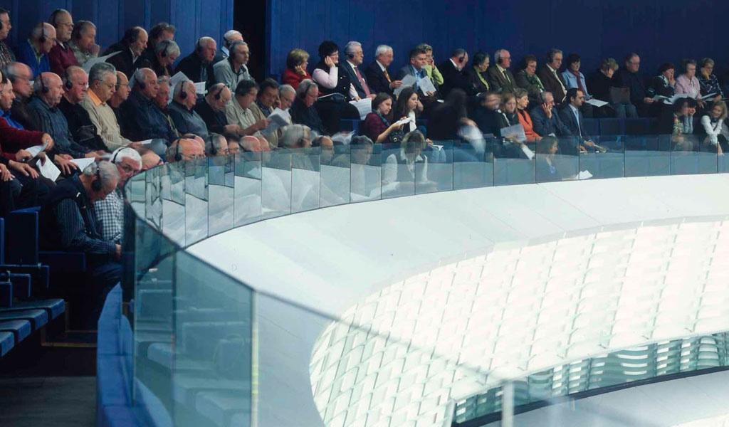 Parlement Européen 16 publique Hemicycle