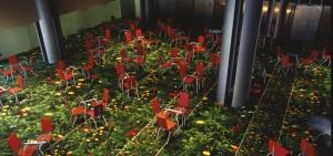 Parlement Européen 23 chaises et tables