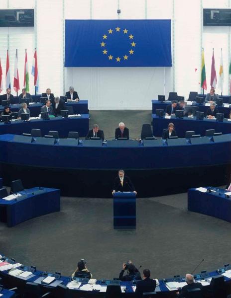Aménagement et Mobilier du Parlement Européen de Strasbourg