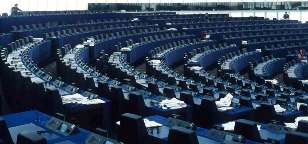 Parlement Européen Hemicycle II