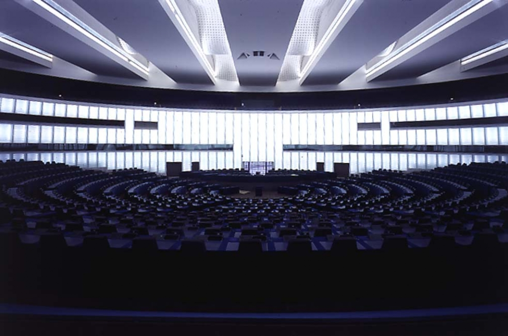 Parlement Européen Hémicycle V