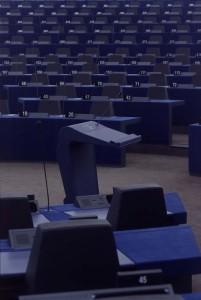 Parlement Européen pupitre