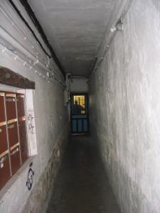 couloir d'accès