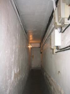 couloir d'acces