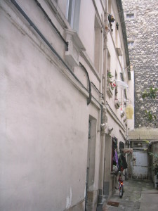 immeuble sur cour