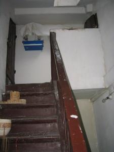 escalier B accès combles