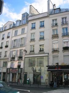 façade Ouest sur rue