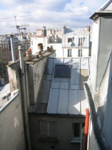 haut façade Est sur cour