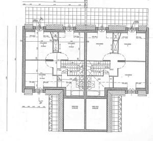 plan étage 4 pièces
